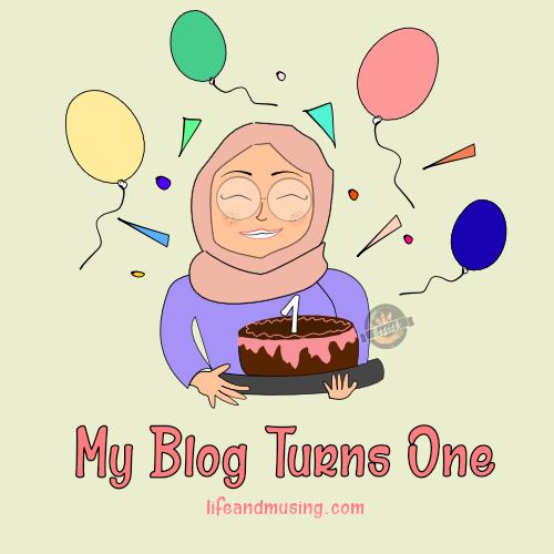 My Blog Turns One.