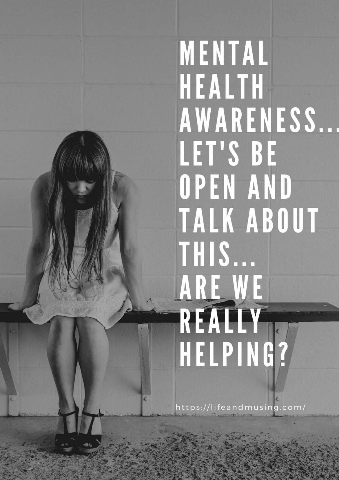 Mental Health Awareness… Let's be open and talk about this…